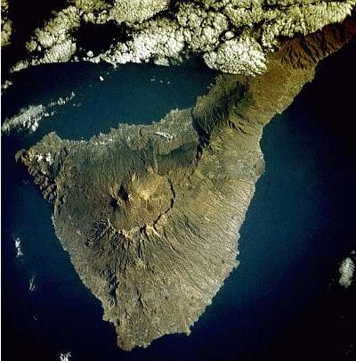Satellitenbild Teneriffa
